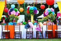 Inspiration - Colourful Wedding