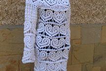 Handmade crochet models