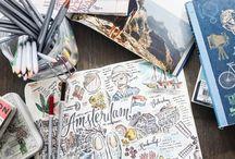 Journals and scrapbooks