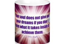 Mugs, Magnets and Posters of Archangel Empowerment / Eileen's quotes and affirmations available as daily reminders on mugs, magnets and posters.   Lovely ways to remind yourself or a loved one that you are loved and guided throughout your day  http://www.zazzle.com/angelicenergy