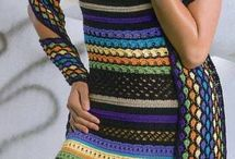 Szydełko - sukienki