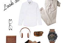 Looks para hombres / ¿Qué me pongo hoy? Nuestras sugerencias y propuestas de #looks y #outfits  masculinos para ir al trabajo, para un evento importante, para el fin de semana...