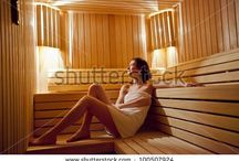 sauna moodboard