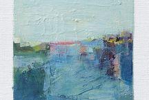 Akvarell maling