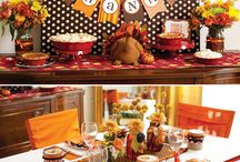 Thanksgiving Ideas and Recipes / by Sheila Curtis