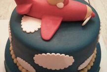 Airplane Cakes / inspiration for 2nd birthday marzipan cake of my little nephew
