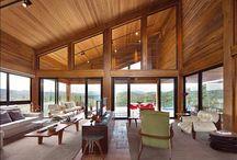 telhado com vidro superior