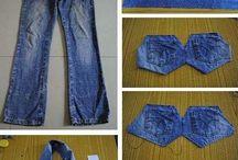 Jeans återvinning