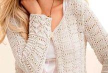 Damskie sweterki na druty