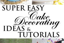 Easy Cake Decoration for friends and family