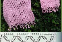 Vzory na šálu