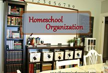 Organizing your homeschool / by Mary Hentze