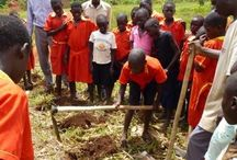 February 2014 Trip / Mark and Debbie Johnson spent a month in Uganda working with the team and thousands of children.