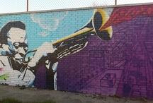 Arte urbano / Grafitis y paredes decoradas