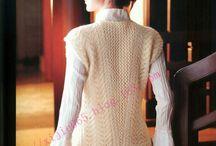 Вязанье жилеты спицами