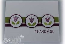 Easy Summer Cards / Cards that are easy to make and have a summer theme.  / by Sylvie Drader Stampin' Up! Demonstrator