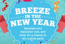 Breeze In the New Year / A little bit can go a long way, which is why simple substitutions make for great New Year's Resolutions. This year, swap out part of your daily routine for Almond Breeze - you'll be surprised that such a small (and delicious) change can make a difference this big. http://bit.ly/BreezeNewYear