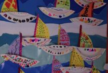 Paper plate boat craft