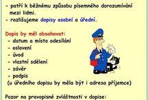 Český jazyk, sloh