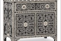 Bone Inlay Furniture / Bone Inlay Cabinet