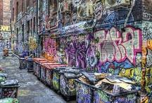 Graffiti / Just some awesome graffiti.