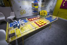 Little Sun shop displays and retail partner / A variety of shop displays and Little Sun retailers around the world.