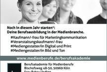 Ausbildung / Coole Ausbildungen in Medienberufen