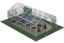 Hydroponics Farms / Growing crop hydroponically is an approach for produce fruits, flowers, and vegetables in areas where the soil is unsuitable for gardening or where space is at a premium.
