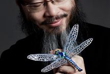 Master Chan jewelry / An amazing sculptor and jewelry designer! / by Nathalie Leseine