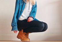 Outfits con Timberland / Ideas para combinar tus botas Timberland con todos tus outfits.