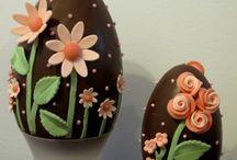 Uova di pasqua decorate
