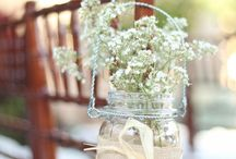 Aisle Decor / Gorgeous adornments to add a touch of 'specialness' to your wedding aisle!