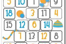 January Math Centers / by Kim