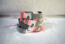 cotton weaving loom bracelet