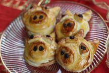 German Christmas/NewYears Food/Celebration