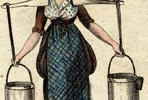 Regency working woman