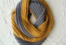 Crochet Scarfs & Cowls