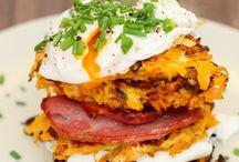 Vegan Burgers, Fritters, Rosti's