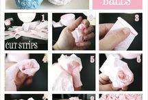 ruže s papiera