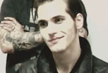 Mikey Way smiling
