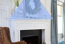 Mantel ideas / Fireplace