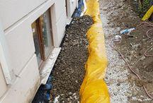 Rain drainage pipe