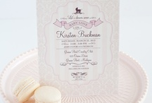Girl Baby Shower / by Sweetly Chic Events & Design