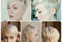 rövid női haj