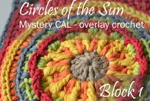 circle of the sun -mystery CAL- overlay crochet by Lilla