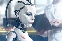 Robot, 3D, Science Fiction, Cyborg, Humanoid, Transhumanisme / Retouvez des images 3D et photoréalistes : Robot, 3D, Science Fiction, Cyborg, Humanoid, Transhumanisme