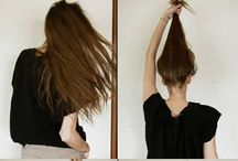 Hair, face and body :)