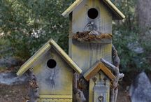 birdhouses / by Carole Minery Lauderbaugh