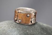 Rings for men / Handmade jewellery by Emma Glover Design