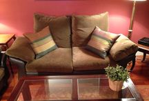 Ref.0066 - Conjunto de Sofás / A continuación, podéis ver uno de nuestros productos. Este maravilloso juego de sofás es ideal para decorar el salón y descansar.